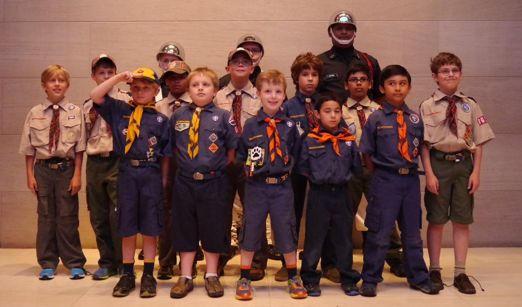 Pack 862 visits the Dallas Symphony Orchestra at the Meyerson