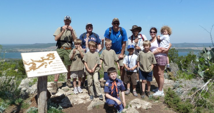 Johnson's Peak at Camp Constantin