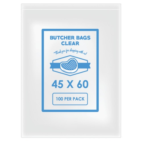 BUTCHER BAG 45 X 60 40MIC X 100
