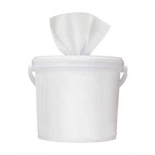 TROLLEY SANITIZING WIPES (BUCKET PLUS 6 REFILLS (500 UNITS))