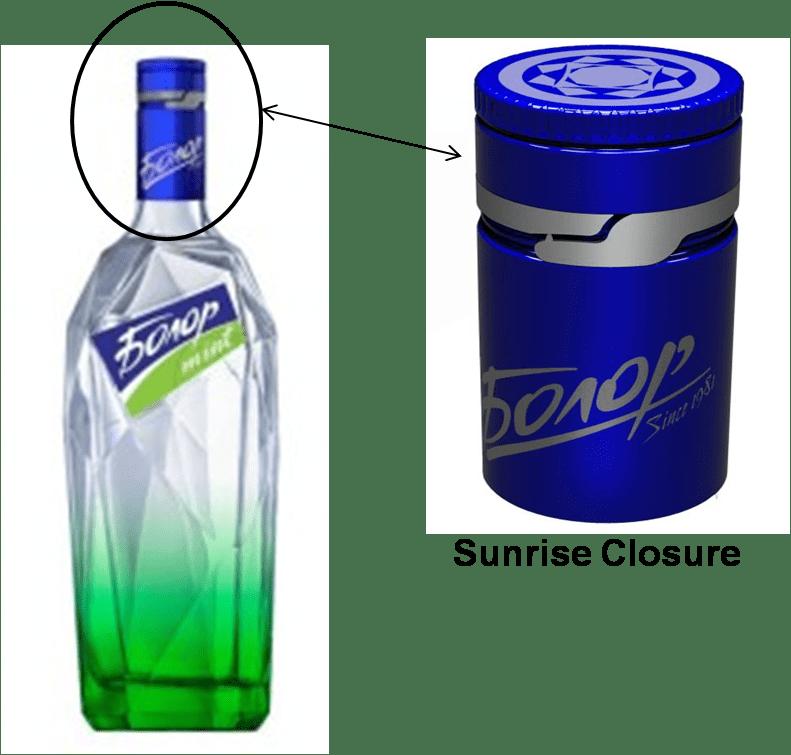 Tamper Evident Closure For Spirit Industry Packaging