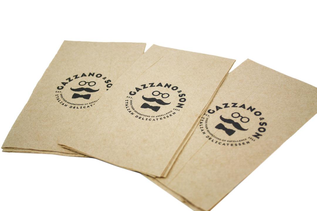 Bespoke custom printed napkins