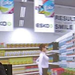 virtual store with 3D glasses