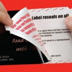 peel-and-reseal label