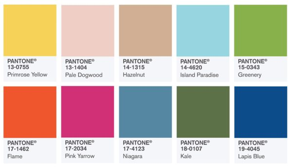 packaging design 2017 pantone colours
