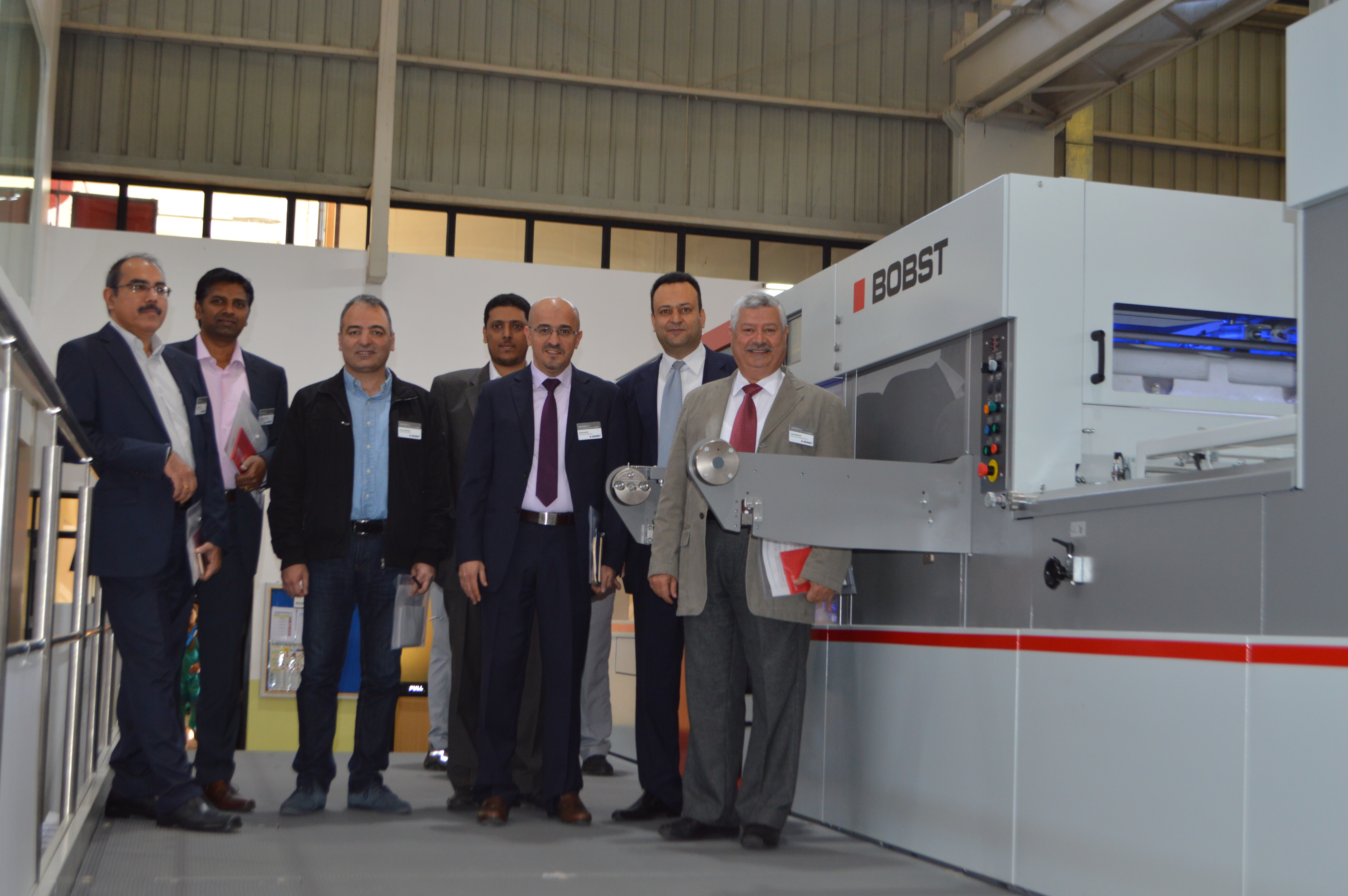 Packaging Printers And Converters From The Gulf Were Among Customers Who Recently Travelled To India Explore New Kit Discover How Bobst Is