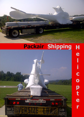 Shipping Helicopter