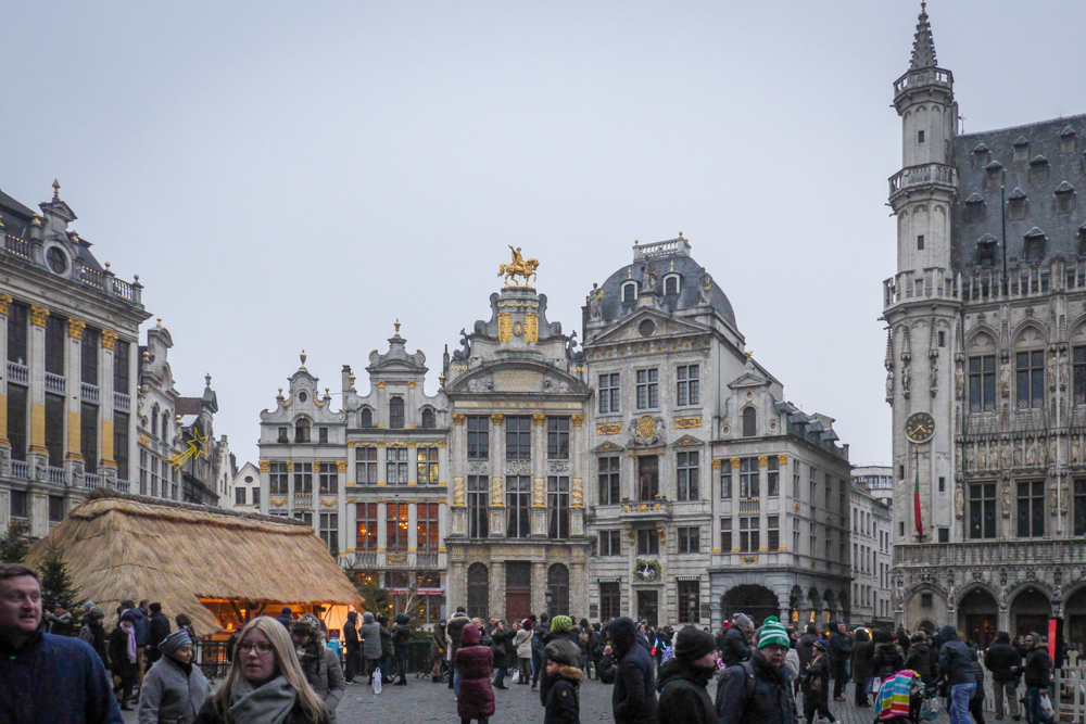 7 Hour stop over in Brussels