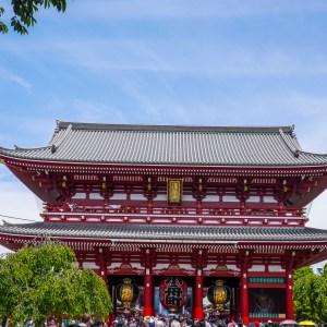 Senso-Ji Temple. Tokyo Japan