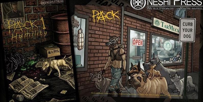 pack comic book kickstarter oneshi press