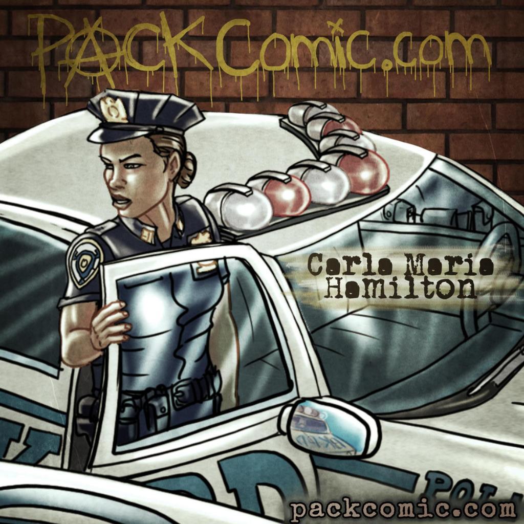 Carla Maria Hamilton - Human Cop Character Bio Pic