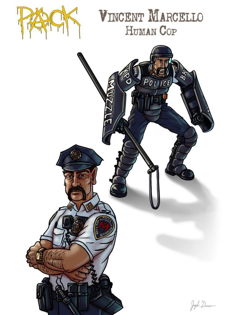 Bio Pic of Lieutenant Vincent Marcello
