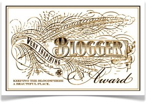 Very Inspiring Blogger Award, by Packing my Suitcase