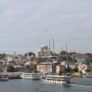 View from the Galata Bridge