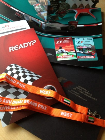 Formula 1 Abu Dhabi, Gran Prix, by Packing my Suitcase.