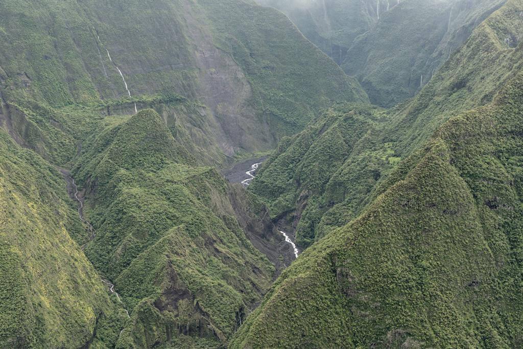 La Réunion vallée montagneuse
