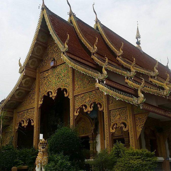 Temple bouddhiste thaïlandais