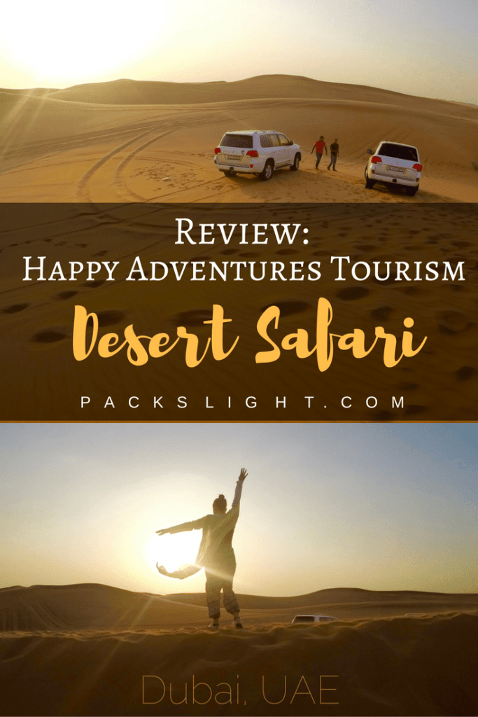 Pin for Happy Desert Safari review
