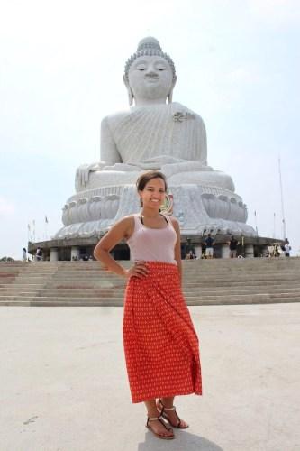 Me at Big Buddha | Thailand, Spring Break