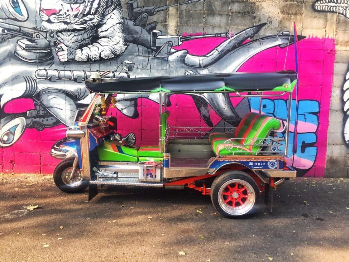 Colorful Tuk Tuk | Thailand, Spring Break