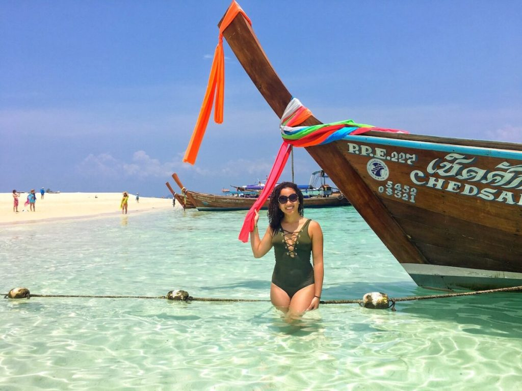 Me at Ko Phi Phi Leh| Thailand, Spring Break