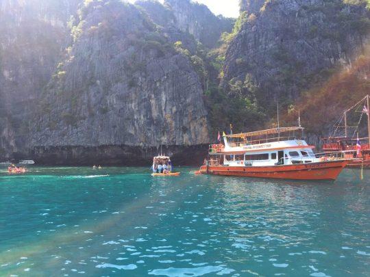 Ko Phi Phi Leh Sun Shot | Thailand, Spring Break