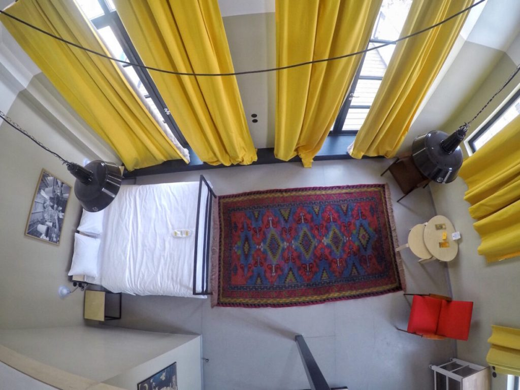 Aerial View of Suite - Fabrika Hostel Tbilisi | Packs Light