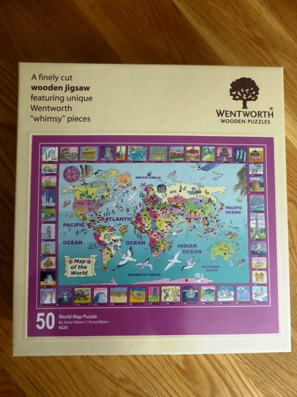 I Know My World Map Jigsaw From Wentworth Puzzles