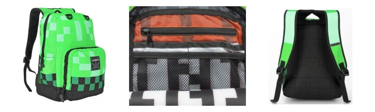 Review: Official Minecraft 'Style On The Go' Backpack