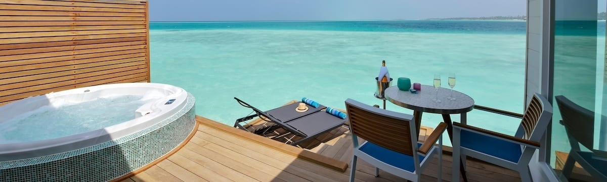 Accommodation at Kandima, Maldives: Studios and Villas to Suit Everyone