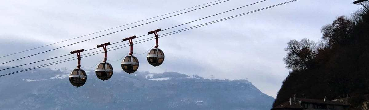 Exploring Grenoble, the Capital of the Alps, in Winter