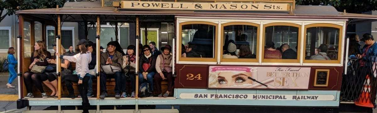 Exploring The Streets of San Francisco by Cable Car