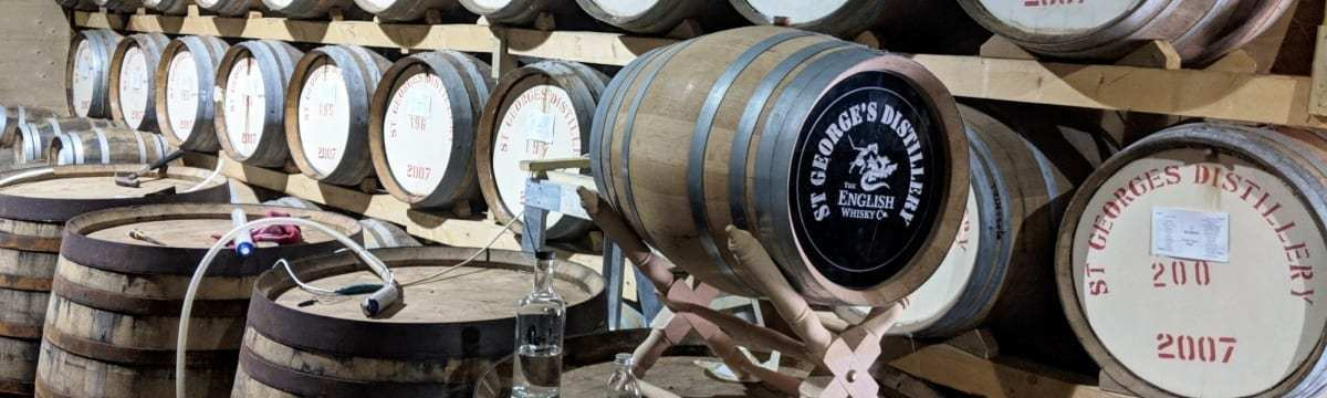 A Tour of St George's Distillery, Roudham, Norfolk