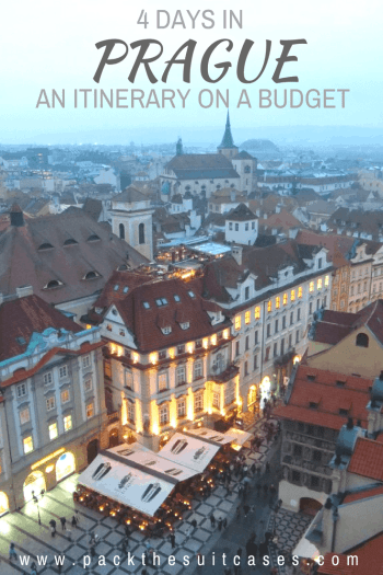 4 days in Prague: an itinerary on a budget | PACK THE SUITCASES