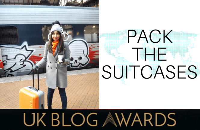 UK blog awards 2018 | PACK THE SUITCASES