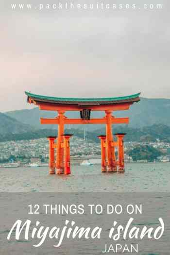 Things to do in Miyajima island, Japan | PACK THE SUITCASES