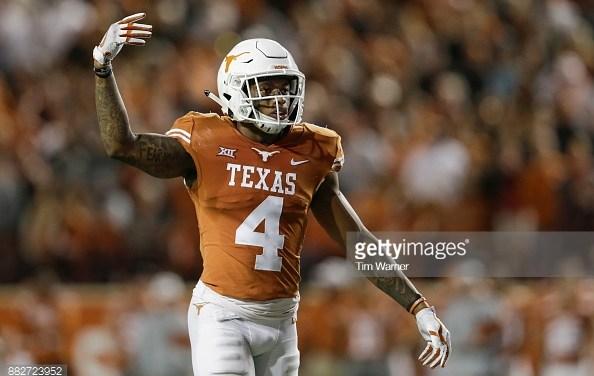 Scouting Report: DeShon Elliott – Safety Texas
