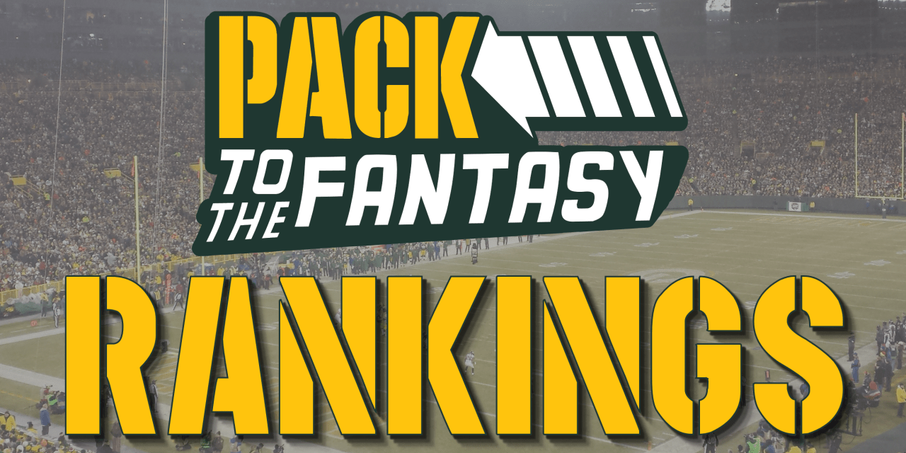 Pack to the Fantasy – Week 6 PPR Rankings