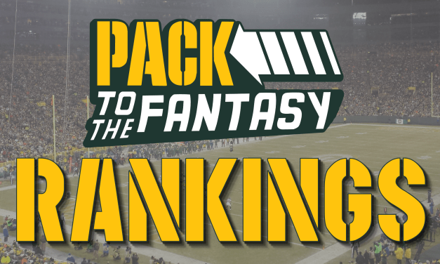 Pack to the Fantasy – PPR Fantasy Football Rankings (Preseason)