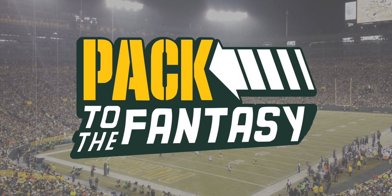 Pack to the Fantasy – Working the Wire – Week 10