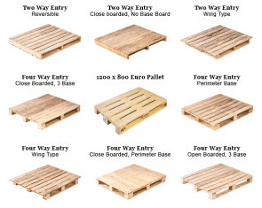 Wooden packaging or pallets