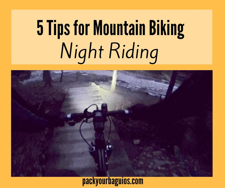 5 Tips for Mountain Bike Night Riding