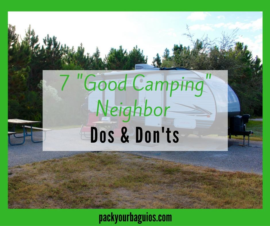 7 Good Camping Neighbor Dos & Don'ts