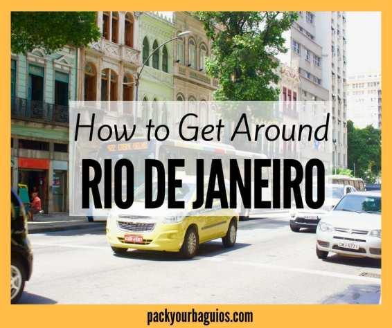 How to Get Around Rio de Janeiro
