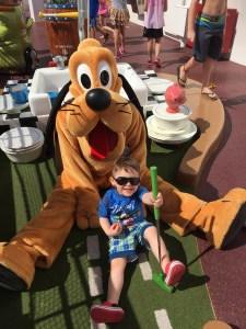 Disney Cruise Line family vacation Putt Putt