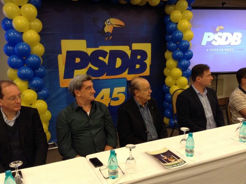 João Pavinato, Valter Orsi, Luiz Hauly, Luiz Francisconi