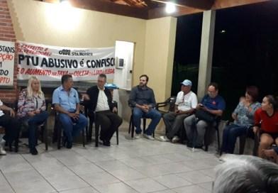 Moradores da zona norte de Londrina vão à Curitiba contra o IPTU
