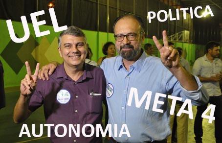 Eleito reitor da UEL, Sérgio Carvalho fala sobre o Meta 4, política na instituição e o rombo no caixa