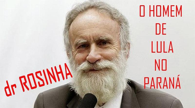Dr Rosinha confia em Lula para vencer no Paraná