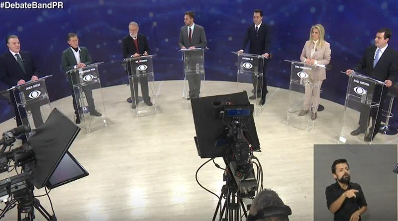Quem ganhou o Debate da Band ontem no Paraná?